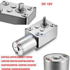 Jual Dinamo Dc Rpm Rendah 12v dc motor ebay