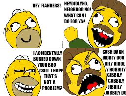 Stupid Sexy Meme - flanders rage comic alligator sunglasses