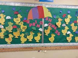 Preschool Bulletin Board Decorations 128 Best April Door Bulletin Board Ideas Images On Pinterest