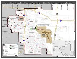 Aurora Map Division Of Support Services Aps Community Campus Overview Map
