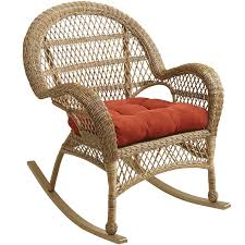 Rocking Chair Santa Barbara Light Brown Rocking Chair Pier 1 Imports