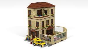 Hotel Ideas Lego Ideas The Lego Hotel Modular Building