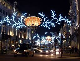 christmas lights direct from china leona s down at regent street today for the turning on of the