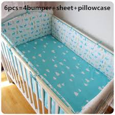 crib bumper blue promotion shop for promotional crib bumper blue