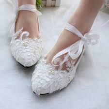 wedding shoes white women s white wedding shoes lace flora strappy bridal shoes