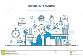 business planning concept organizing workflow analysis and