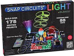 snap circuits lights electronics discovery kit amazon com elenco scl 175b snap circuits lights electronics