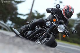 triumph bonneville t120 black review