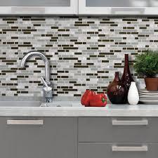Stick On Kitchen Backsplash Backsplashes Countertops U0026 Backsplashes The Home Depot