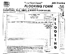 Flooring Invoice Template by Business Systems Incentives