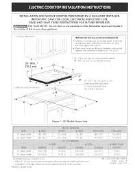 Ge Cooktop Troubleshooting Kenmore Cooktop 318201439 User Guide Manualsonline Com
