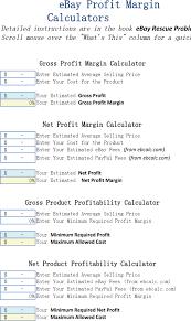 download profit margin calculator excel template for free tidyform