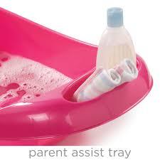 Summer Infant To Toddler Bathtub Splish N U0027 Splash Newborn To Toddler Bath Tub Pink Summer Infant