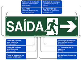 Amado SAC | TAG Sinalização - Placas Fotoluminescentes com Certificação ABNT &GY48