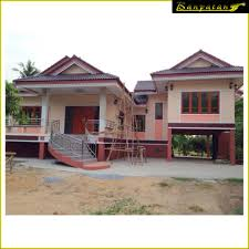 thai architecture house design in singhaburi province thailand แบบ