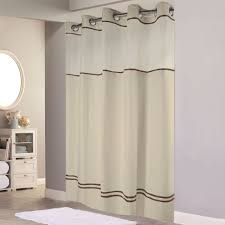 hookless hbh40mys0529sl77 sand with brown stripe escape shower