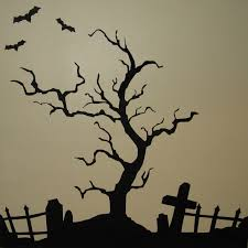 black trees for halloween creepy halloween tree vinyl wall art