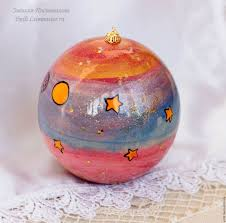 buy balloon christmas box 10cm the little prince wood painted