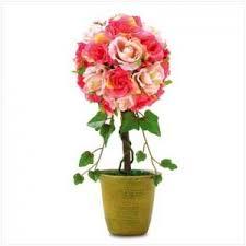 Topiary Wedding - rose topiary wedding centerpieces lot of 20 centerpiece center piece
