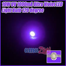 led uv light bulbs 10w uv ultra violet led 1000ma light bulb 120degree