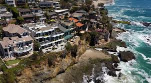 oceanfront laguna beach home near legendary u0027pirate tower u0027 selling