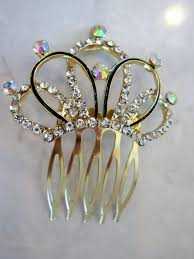 barrette clip hair comb barrette clip bridal clip bridal barrette