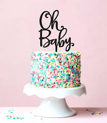 gender reveal cake topper decor cake toppers the best gender reveal cakes ideas on baby oh