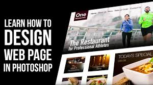 web design tutorial how to design website in photoshop youtube