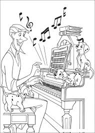 coloring book listen coloring pages 101 dalmatians listen coloring pages