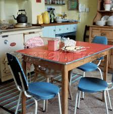 1960s Kitchen Kitchen Table And Chairs 1960s Red Formica Kitchen Table And
