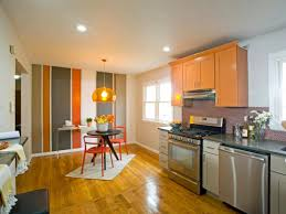 kitchens with yellow cabinets orange paint colors for cars modern kids bedroom with yello red