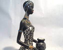 Statue For Home Decoration And Child Statue Tribal Doll Figurine
