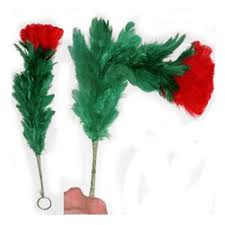 feather flower drooping flower magic trick fast shipping magictricks