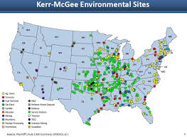 Navajo Reservation Map A Frightening Map Of Where Kerr Mcgee Polluted The Washington Post