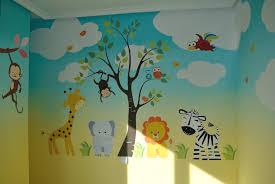 Safari Wall Murals Mural Infantil Pinterest