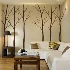 winter tree decal winter tree wall decal