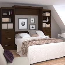 Storage Units For Bedrooms Boutique Queen Wall Bed With Two 25