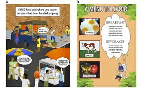 efficacy of a food safety comic book on knowledge and self
