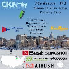mid west tour stop 1 madison wi collegiate kiteboarding