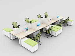 Open Office Benching Work Stations Modern Office Furniture - Open office furniture