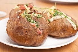 patate en robe de chambre robe de chambre au four