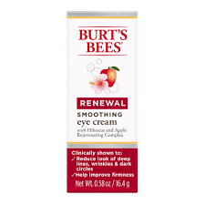 burt u0027s bees renewal smoothing eye cream 0 58 oz walmart com