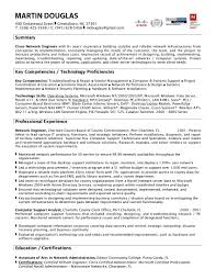 Network Analyst Resume Cisco Network Engineer Resume Resume For Network Engineer With