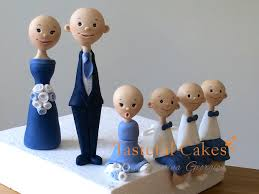 tasteful cakes by christina georgiou personalised family wedding