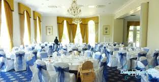 Wedding Chair Covers And Sashes Navy Blue Organza Sashes In Kent Designer Chair Covers To Go