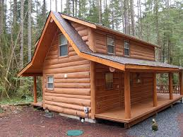 Wrap Around Deck by Log Cabin Near Mt Baker Bbq And Wrap Around Deck Wifi Provided