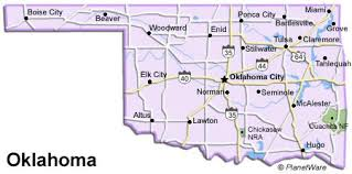 map ok panhandle oklahoma travel guide planetware