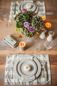 Fall Table Settings by Easy Rustic Elegance Thanksgiving Table U2014 Teaselwood Design