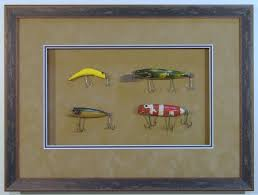 antique fishing lures carter avenue frame shop custom picture