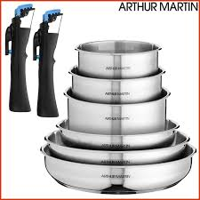 arthur martin cuisine batterie de cuisine arthur martin avis awesome trend corner le shop